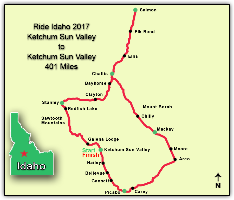 2017 route map