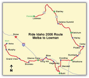 2006 route map