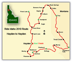 2010 route map